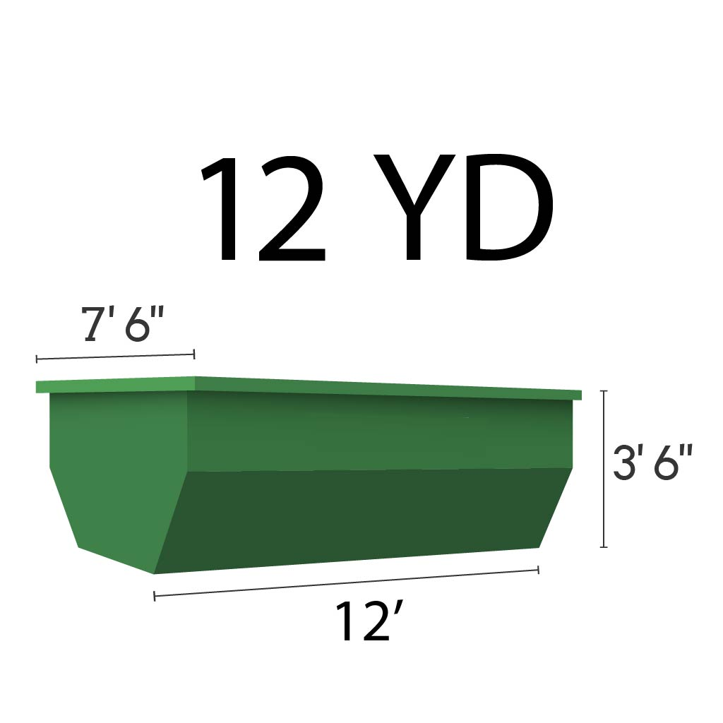 Image of dumpster: 12YD Roll-Off